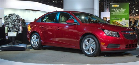 Chevy Cruze Clean Diesel 2014